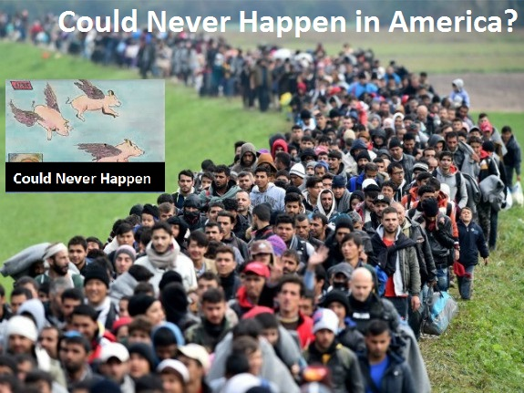 Merkels Migrants Arriving